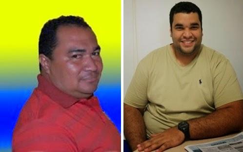 Naldo Batista e Prefeito cassado Rafael Mesquita Brasil