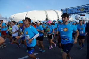Meia Maratona do Sol chega à marca de 4 mil inscritos. Foto: Reprodução/Meia Maratona do Sol
