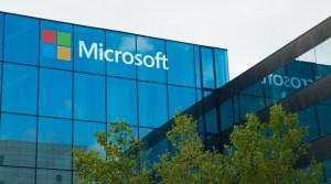 Fachada de uma das sedes da Microsoft. Foto: Reprodução