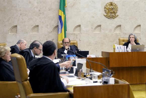 O STF julgou hoje denúncia da PGR que torna réu o senador Renan Calheiros Foto: Felipe Sampaio/SCO/STF