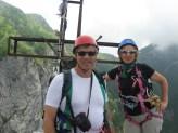 Sulla vetta del monte Procinto (Alpi Apuane)