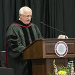 David Welker Addresses Spring 2017 Graduates