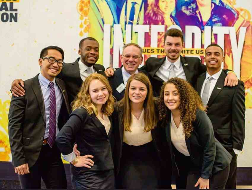 Cairn Enactus team at US national competition 2017