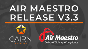 Air Maestro V3.3 Changes