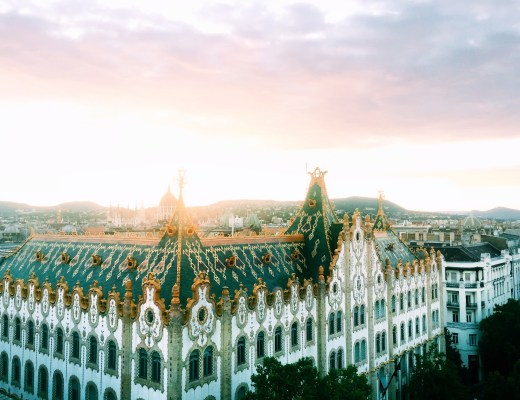 Sunsets in Budapest at the Hotel President