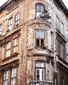 There are so many unique reasons to visit Budapest, including these crumbling facades.