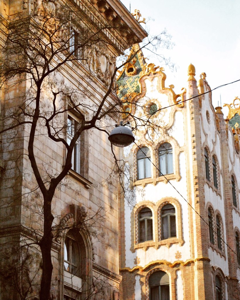 There are so many unique reasons to visit Budapest, including this gorgeous lighting.