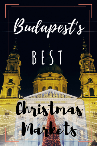 Fun Fact: Budapest is actually full of beautiful Christmas markets, some that even rival its famous neighbors, Germany and Austria. If you're in Budapest for the perfect winter vacation, here are the best Christmas markets in Budapest.