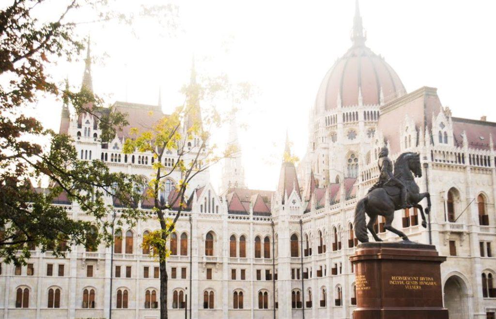 Budapest Sunset - Parliament