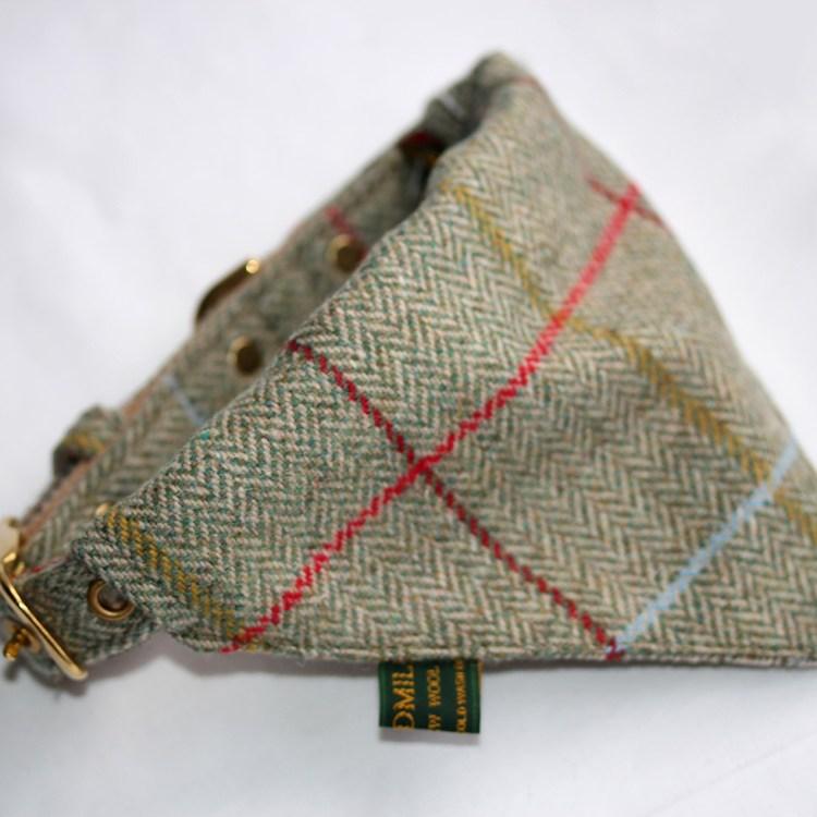 Traditional Herringbone Tweed Neckerchief