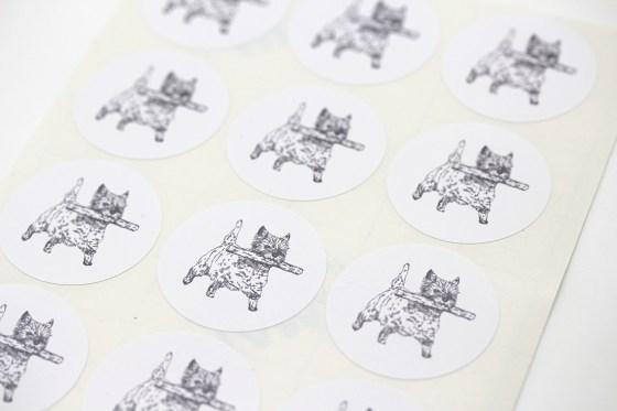 Sheet of Cairn Terrier Stickers