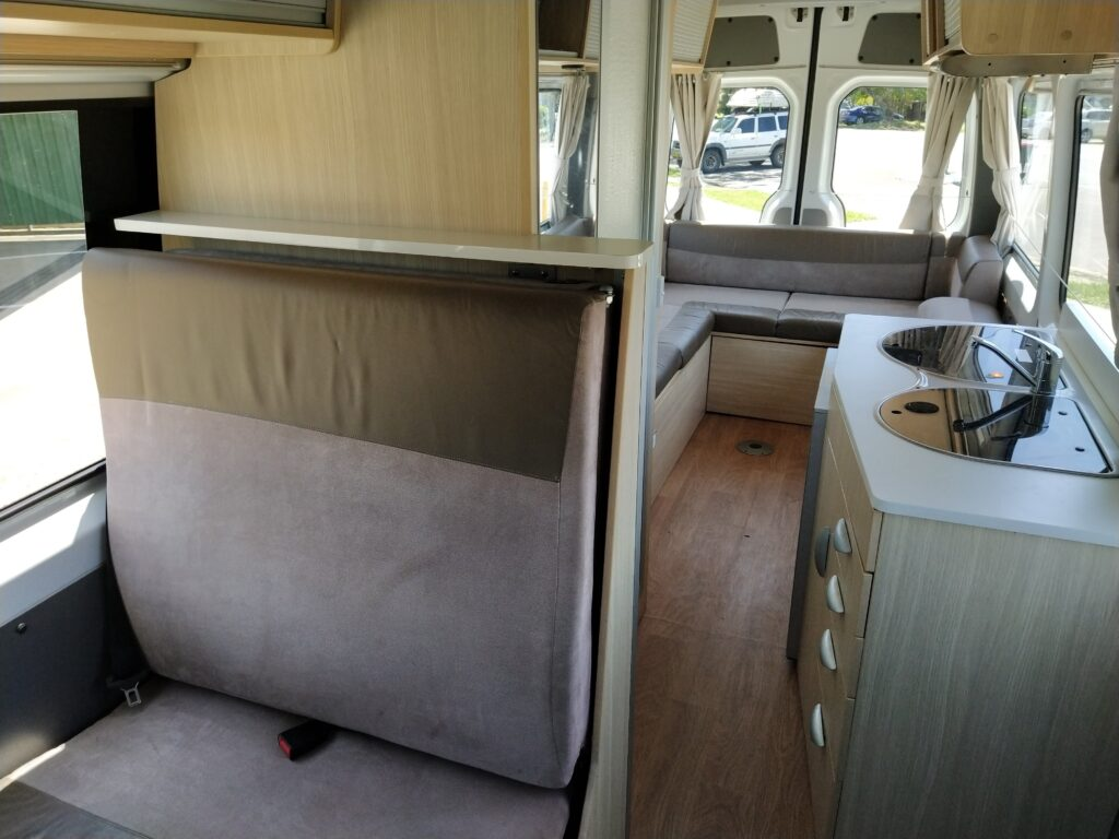 3 Berth and Roomy