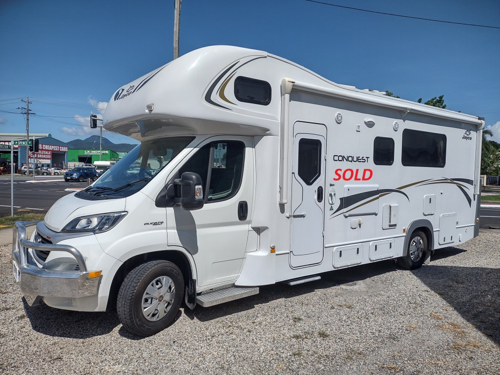 2018 Jayco Conquest now sold