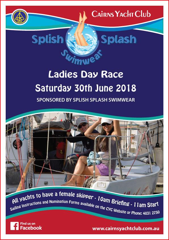 Ladies Day June 2018 Poster