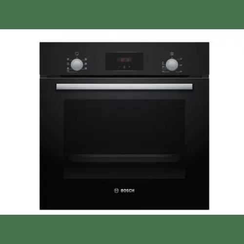 bosch built in electric oven 60 cm 66l black hbf113ba0q