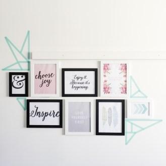 My DIY Gallery Wall