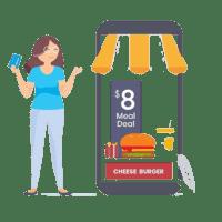 WEBSHOP selon Commercill - click & collect - caisse restaurant