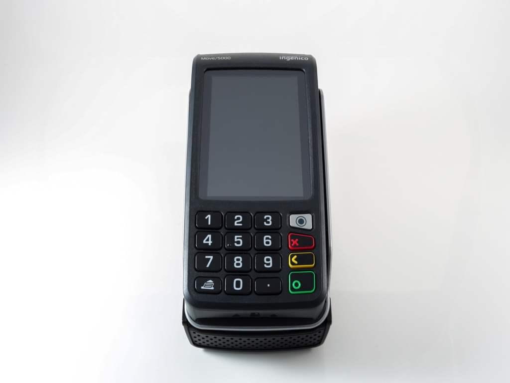 TPE sans fil Ingenico Tetra Move 5000 sans contact