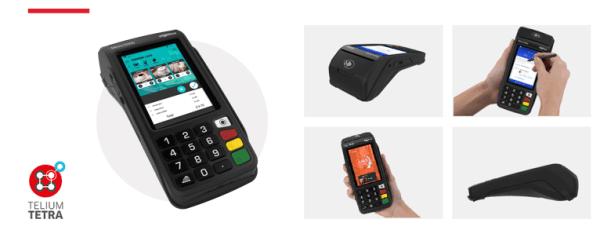 Terminal de paiement électronique fixe Ingenico Move 5000 avec écran tactile