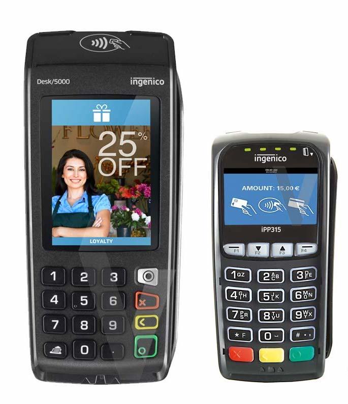 Achat tpe ip : TPE Desk 5000 Ingenico et PINPAD Desk 1500 + passerelle monétique obligatoire