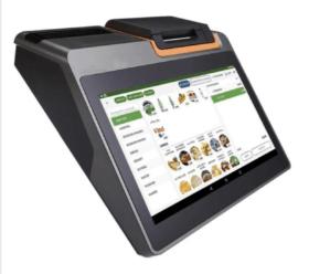 Caisse enregistreuse TPV FP1280 avec Commercill imprimante incluse