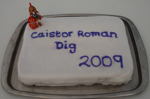 In an excavation marked by great cake, this one stands out.