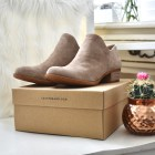 lucky brand booties with a low heel