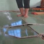 sửa chữa nền nhà bị phồng