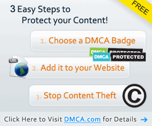 3 easy steps to protect your content DMCA Protected