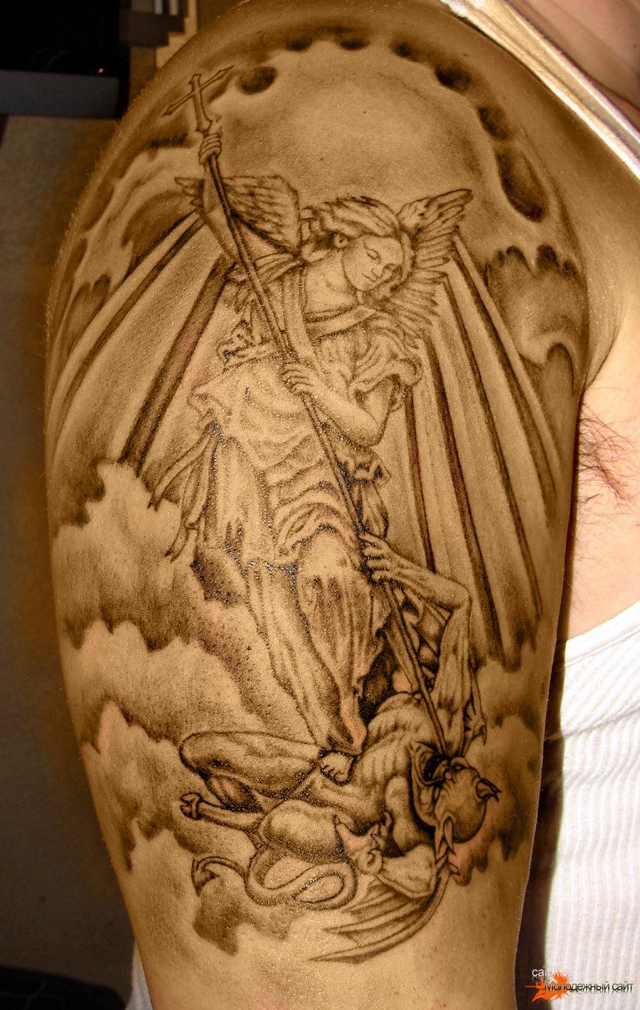 татуировки архангела михаила и их значение