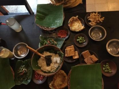 Meal at warung ss