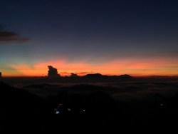 Werid cloud on the left