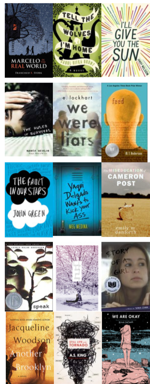 Young Adult Favorites