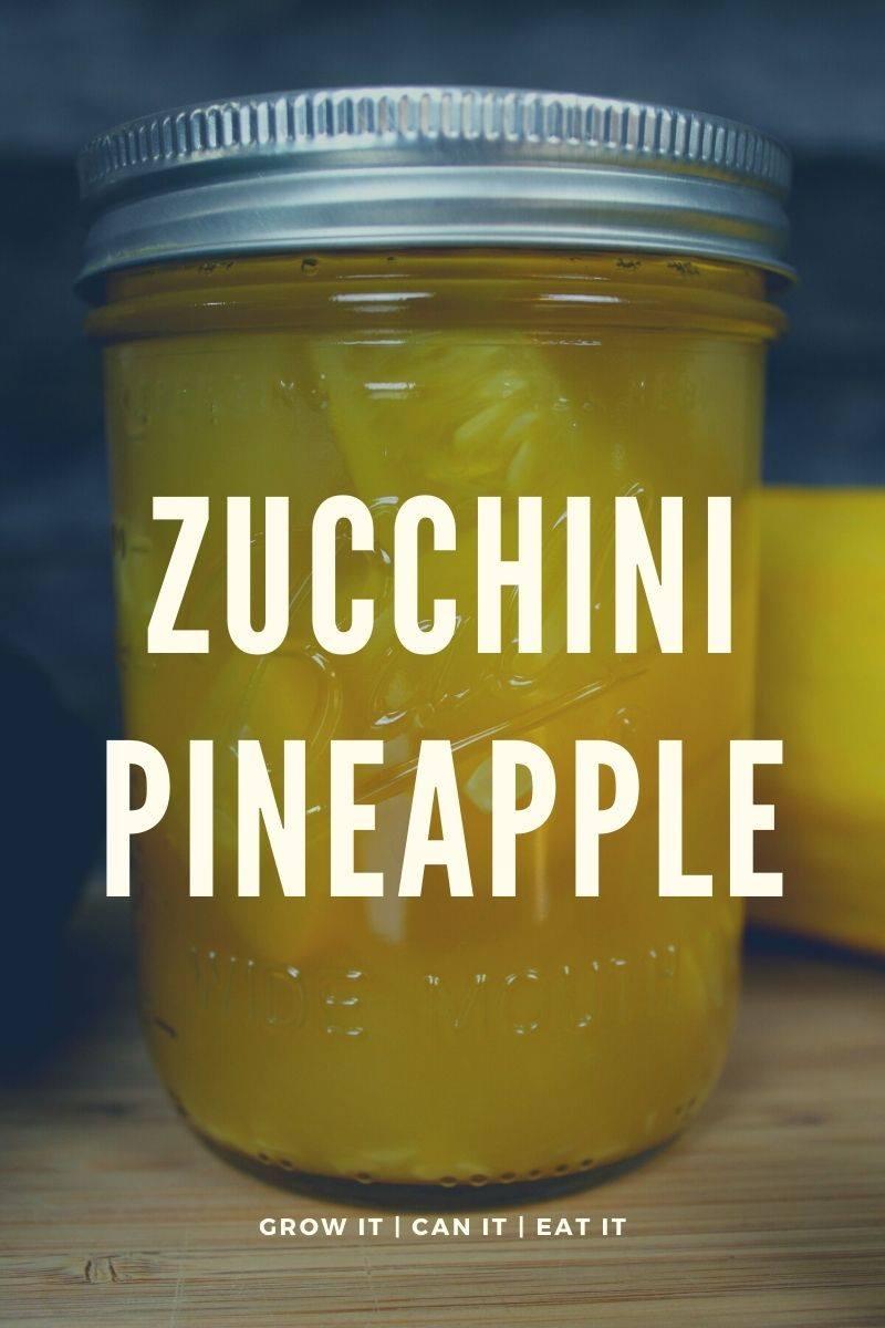 Zucchini Pineapple