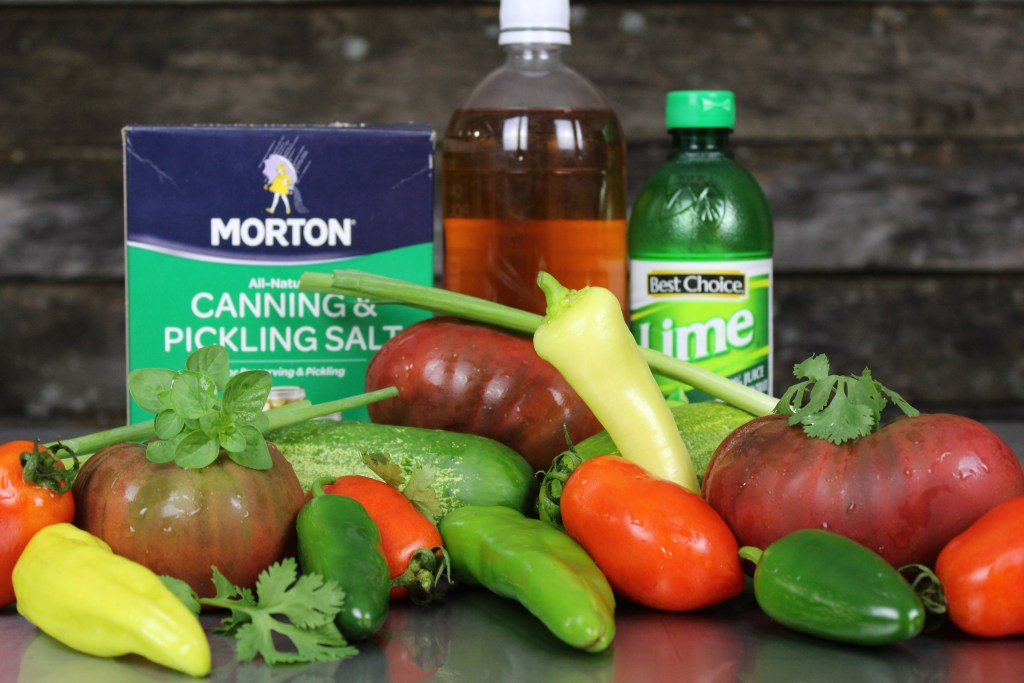 Fiesta Garden Ingredients