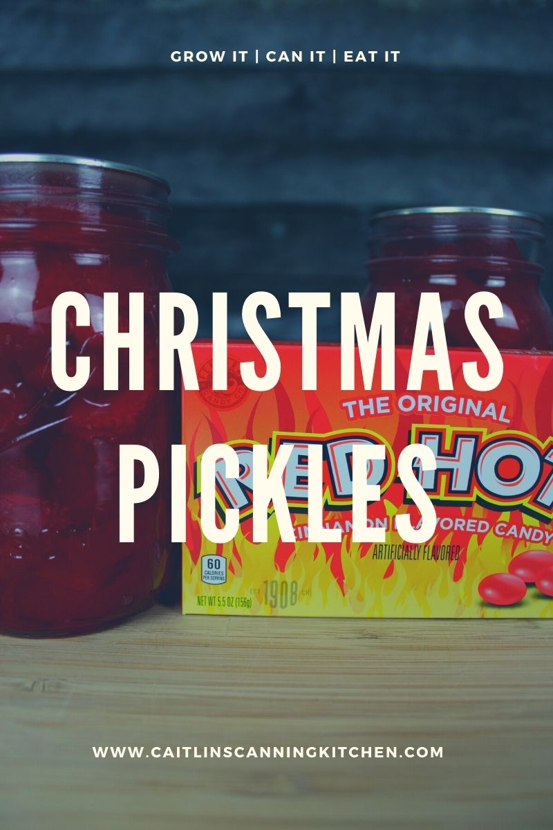 Christmas Holiday Pickles