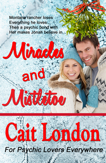 Book Cover: MIRACLES AND MISTLETOE