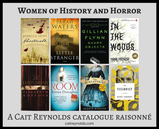women authors history horror fiction cait reynolds catalogue raisonne