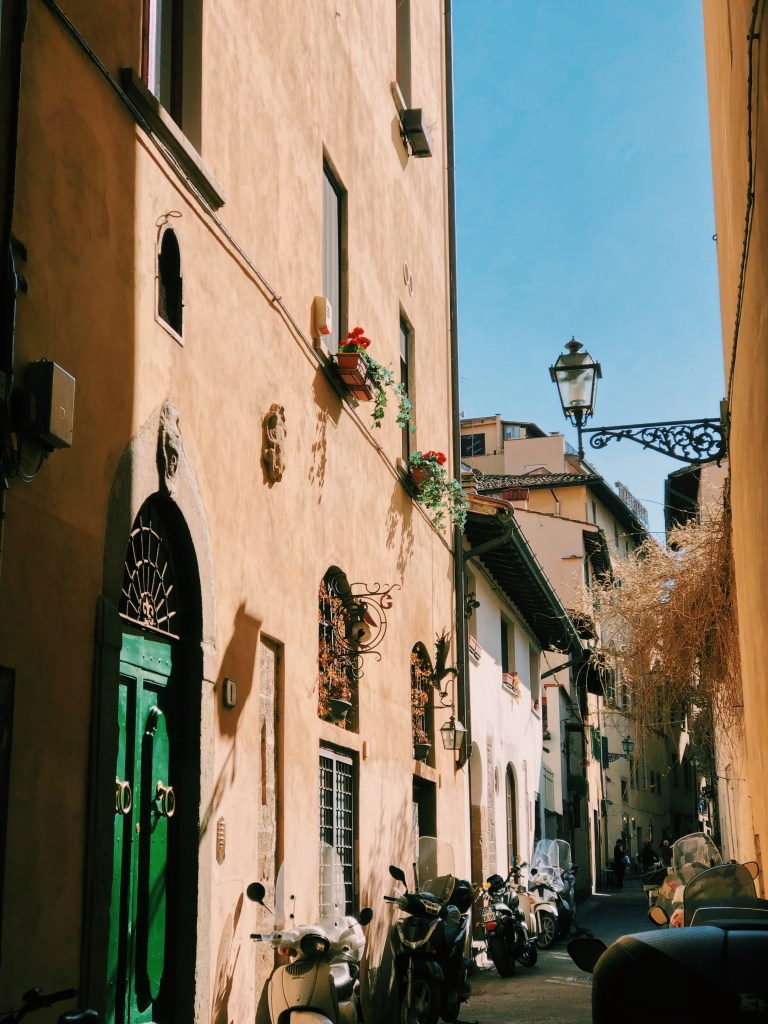 self guided walking tour florence italy