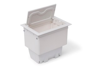 Caixa Tomada Alumínio 4 E 8 Blocos Para Mesa