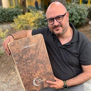 Christian Grassart percusionista cajones al-andalus