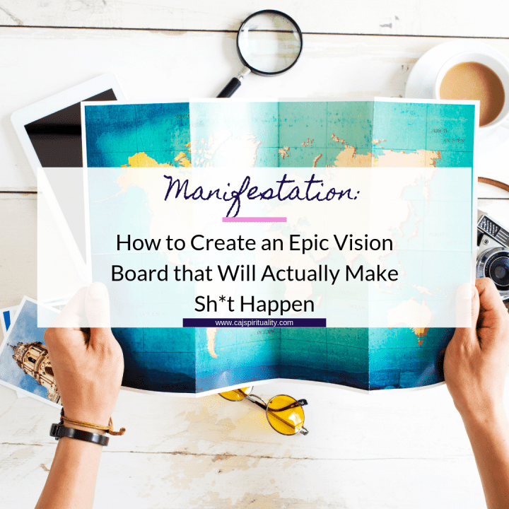 How to Create an Epic Vision Board that Will Actually Make Sh*t Happen