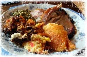 Christmas Dinner Plate 2009