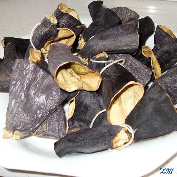 Dried Eggplants