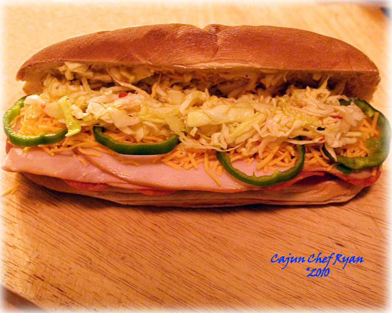 Italian Turkey Slaw Roll