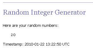 Random Number Generator image