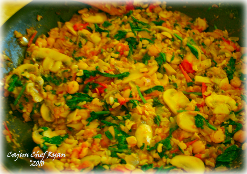Stuffing for the Sweet Peppers