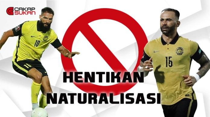 Projek naturalisasi ditangguhkan