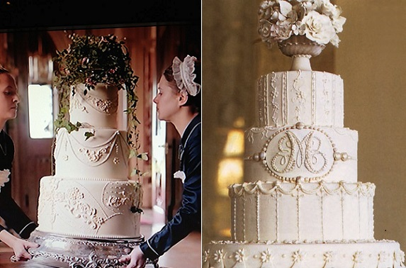 Downton Abbey Wedding Cakes Cake Geek Magazine
