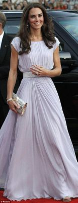 Kate Middleton - Long Gown
